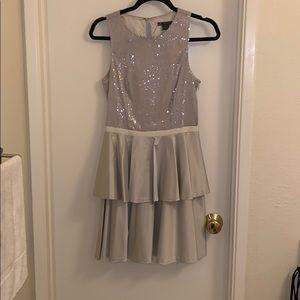 Armani exchange silver dress